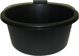 ProStable 3 Gallon Plastic Feed Bucket Black