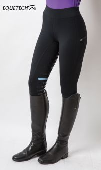 Equetech Perform Riding Tights Black
