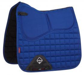 LeMieux ProSorb Plain Dressage Saddlecloth Benetton Blue