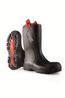Dunlop Purofort Plus Rugged Full Safety Wellingtons