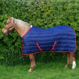 John Whitaker Thomas 250g Stable Rug - Navy Red