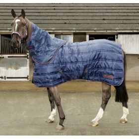 John Whitaker Rastrick 250g Detachable Neck Stable Rug - Navy