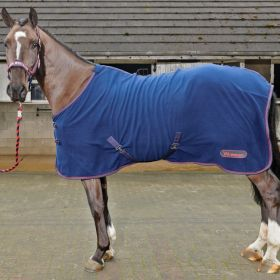 John Whitaker Rastrick Fleece Rug - Navy