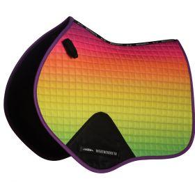 Weatherbeeta Prime Ombre CC/ Jump Saddle Pad-Rainbow Dream-Pony Clearance - WeatherBeeta