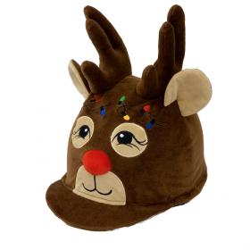 Rudolph Reindeer Hat Silk - Equetech