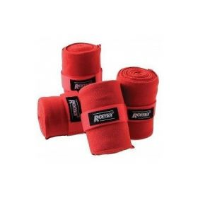 Roma Acrylic Stable Bandages 4 Pack  Red