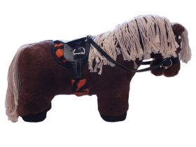Crafty Ponies Saddle Cloth and matching Girth sleeve with instruction booklet Tigga