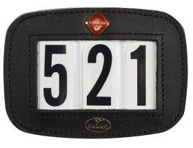 Hamag LeMieux Bridle Number Holder-Black