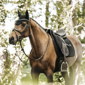 Kentucky Pearls Dressage Saddle Pad - Black