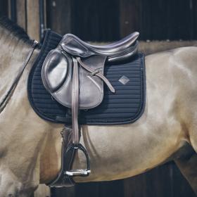 Kentucky Pearls Jumping Saddle Pad - Black