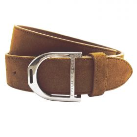 Equetech Stirrup Leather Belt 35mm Brown