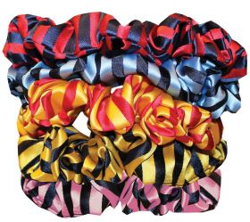 Equetech Broad Stripe Hair Scrunchie