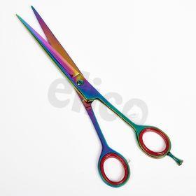 Elico Multicoloured Straight Scissors