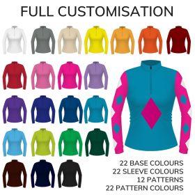 Equetech Junior Custom Spectrum Eventer Shirt