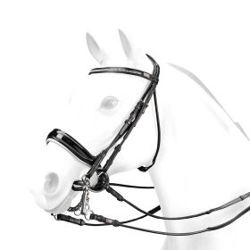 Equipe Charlotte DuJardin Double Bridle BR58