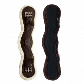 Kentucky Sheepskin Anatomic Short Girth - Brown