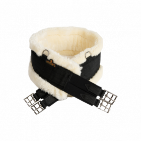 Kentucky Sheepskin Girth - Black
