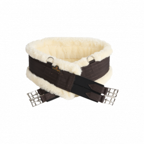 Kentucky Sheepskin Girth - Brown