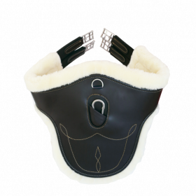 Kentucky Sheepskin Stud Girth - Black