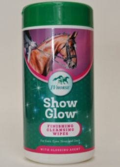 IV Horse Show Glow Finishing Cleansing Wipes 50PK