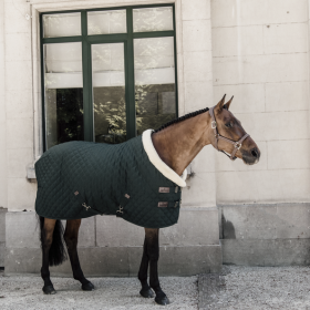 Kentucky Show Rug - Dark Green