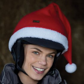 Equetech Santa Knitted Riding Hat Cover