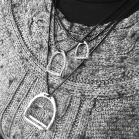 Equetech Stirrup 3-In-1 Necklace - Silver