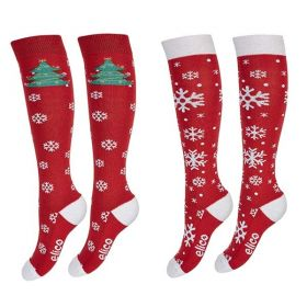 Elico Snowflakes Christmas Socks