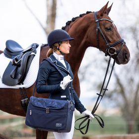 Someh Classic Grooming / Tournament Bag - Equestrian Blue