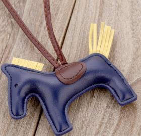 Someh Horse Bag Charm - Blue