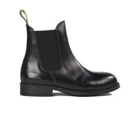 Tuffa Spartan Safety Jodhpur Boots - Black