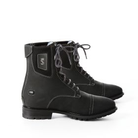 Tredstep Spirit Front Lace Boots Black