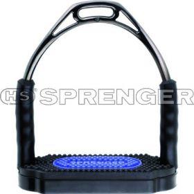 Sprenger Bow Balance Stirrup Irons Grey