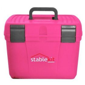Stable kit Grooming & Tack Box Pink