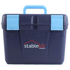Stable kit Grooming & Tack Box Navy