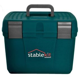 Stable kit Grooming & Tack Box Petrol