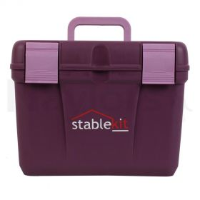 Stable kit Grooming & Tack Box Purple
