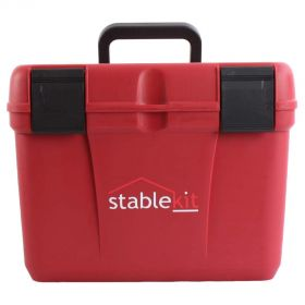 Stable kit Grooming & Tack Box Red