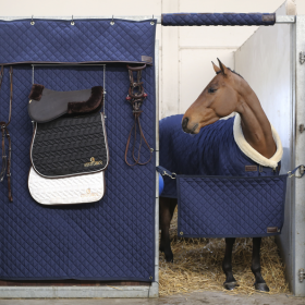 Kentucky Horsewear Stable Curtain - Navy - Kentucky Horsewear