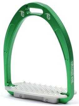 Tech Stirrups Athena  Green