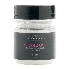 Glamourati Stardust Glitter 15g-Unicorn White