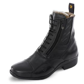 Tonics Stardust Frost Paddock Boots - Black