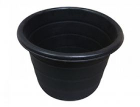 Stubbs Feed Bin/Water Butt (S44LH) Black