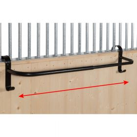 Stubbs Extendable Hook-On Rug Rail Black S8895