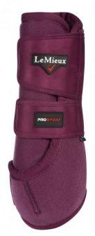 LeMieux ProSport Support Boots Pair Plum