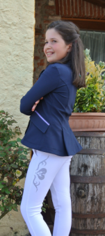 For Horses Susi Childrens Breech -6-7yrs-White - Clearance - For Horses