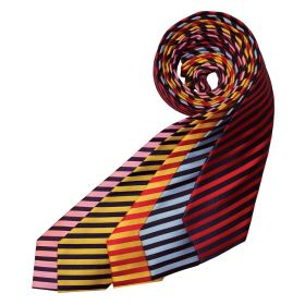 Equetech Junior Broad Stripe Showing Tie
