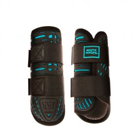 Majyk Equipe Color Elite XC Boot (Front) Black - Turquoise