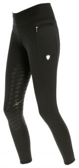 Covalliero Childs Riding Tights - Anthracite