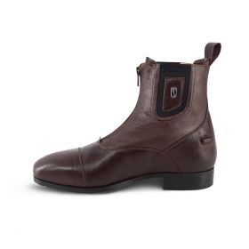 Tredstep Medici Front Zip Short Boot  Brown